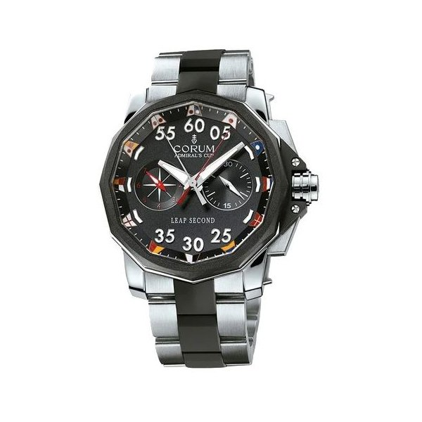 CORUM ADMIRAL'S CUP LEAP SECOND CHRONOGRAPH MEN'S WATCH
