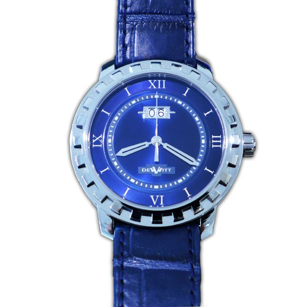 DEWITT NEW ACADEMIA GLORIOUS KNIGHT BLUE DIAL LIMITED 200 PCS