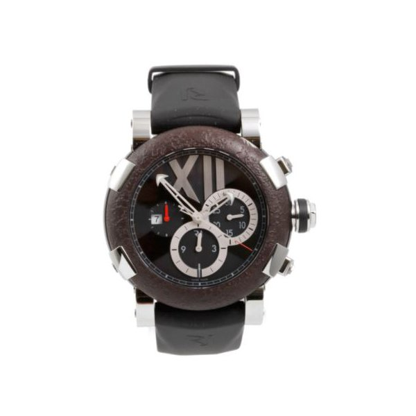 ROMAIN JEROME TITANIC DNA CHRONO RUSTED STEEL T-OXY 3 STEEL/TITANIUM WITH RUSTED STEEL BEZEL