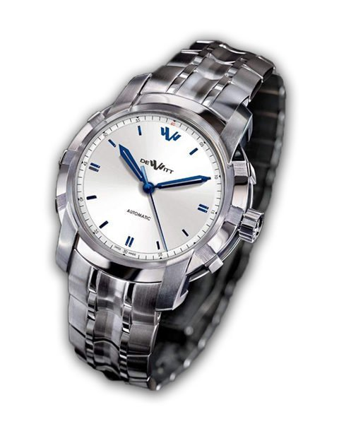 DEWITT GLORIOUS KNIGHT MALES WISHES WHITE DIAL 42 MM