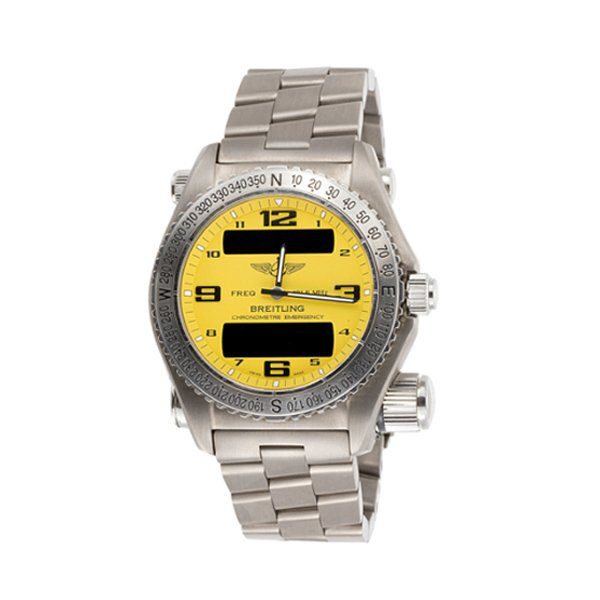 BREITLING EMERGENCY MULTIFUNCTIONAL CHRONOGRAPH MEN'S WATCH REF. E76321
