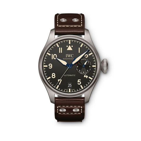 IWC Pre-owned Big Pilots Automatic Black Dial Men's Watch