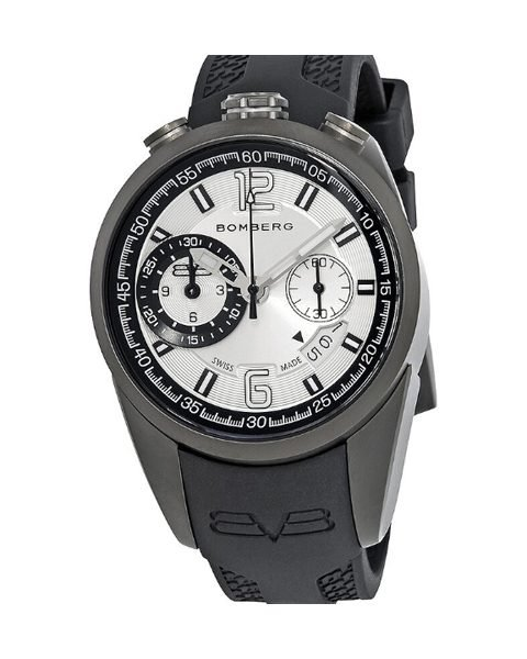 BOMBERG 1968 CHRONOGRAPH SILVER DIAL MEN'S WATCH