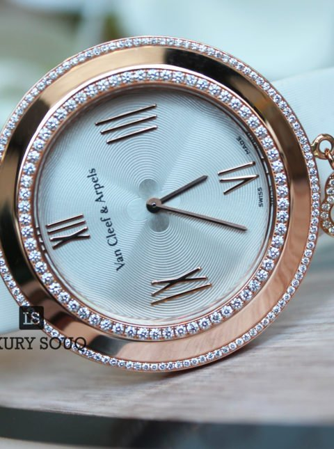 VAN CLEEF & ARPELS CHARMS CREAM LACQUER DIAL 38 MM