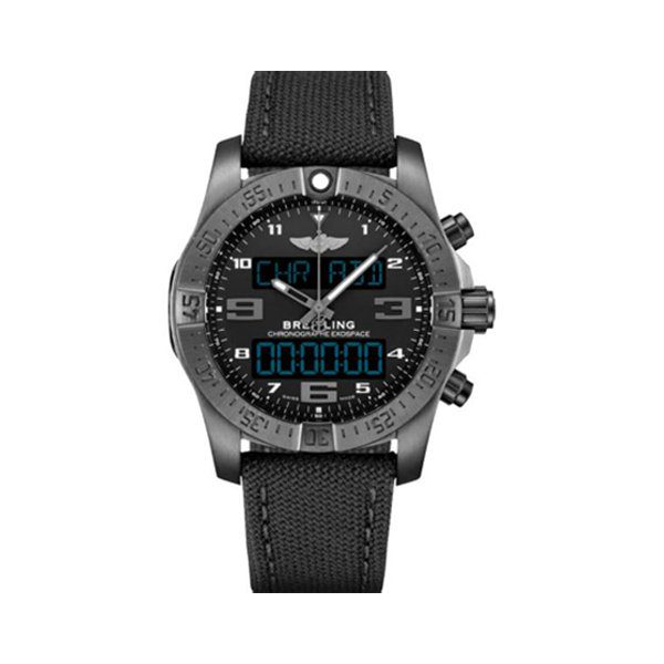 BREITLING EXOSPACE B55 PERPETUAL CHRONOGRAPH QUARTZ ANALOG-DIGITAL CHRONOMETER WATCH