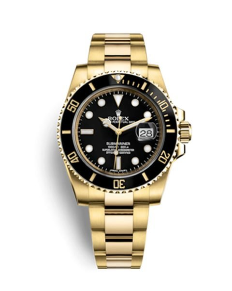PROFESSIONAL ROLEX OYSTER PERPETUAL SUBMARINER DATE MEN'S WATCH DISCONTINUED REF. 116618LN