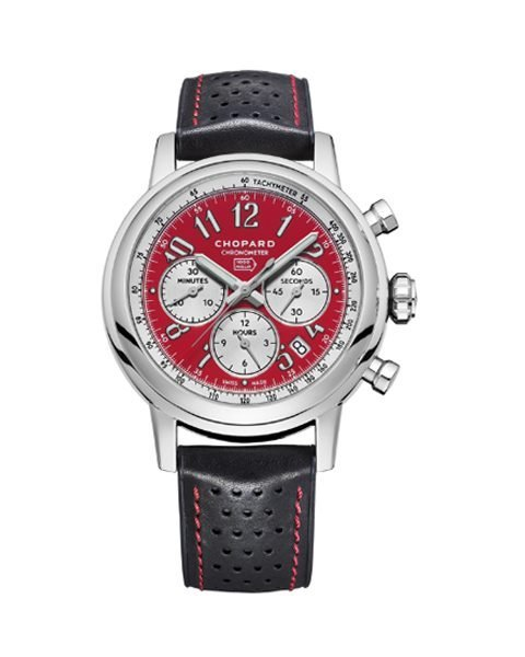 CHOPARD MILLE MIGLIA CHRONOGRAPH AUTOMATIC RED DIAL LIMITED EDITION MEN'S WATCH REF. 168589-3008