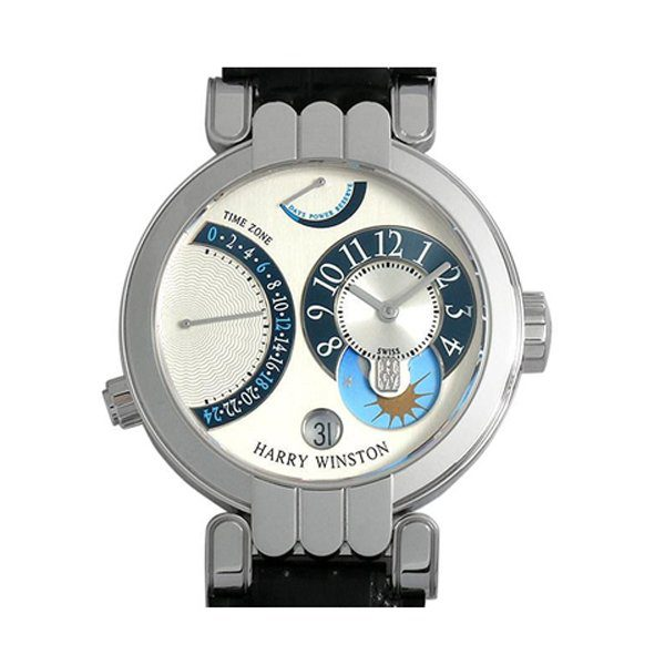 HARRY WINSTON PREMIER EXCENTER TIME ZONE REF. 200-MMTZ39W