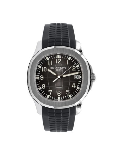 """Patek Philippe Pre-owned Aquanaut Steel """"Tiffany & Co."""" Dial 5167A-001"""