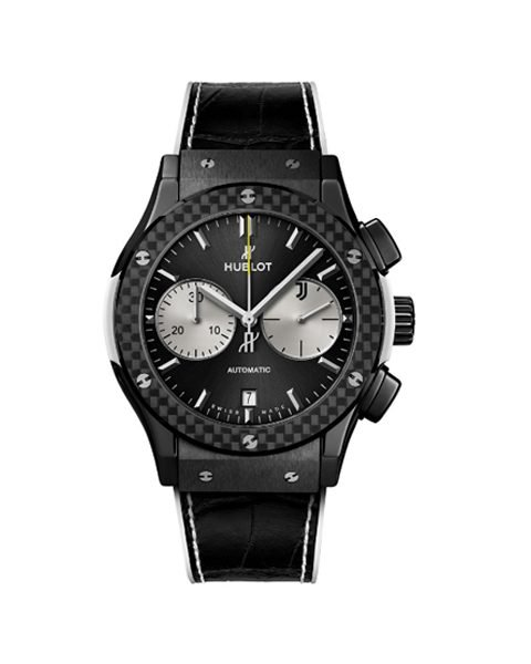 HUBLOT CLASSIC FUSION CHRONOGRAPH JUVENTUS LIMITED EDITION OF 200 WATCH REF. 521.CQ.1420.LR.JUV18
