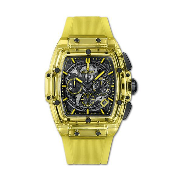 HUBLOT SPIRIT OF BIG BANG YELLOW SAPPHIRE WATCH LIMITED EDITION OF 100 PIECES REF. 641.JY.0190.RT