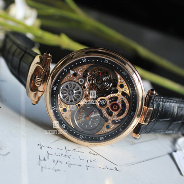 BOVET 1822 AMADEO COMPLICATIONS FLEURIER COMPLICATION TOURBILLON MEN'S WATCH REF. CP0492