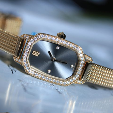 Harry Winston Pre-owned Emerald Collection Diamonds Ladies Watch