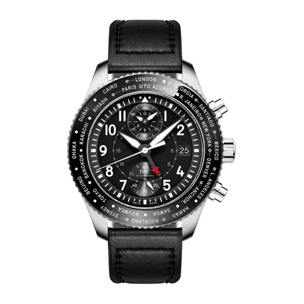 IWC PILOT'S WATCH TIMEZONER CHRONOGRAPH MEN'S WATCH REF. IW395001