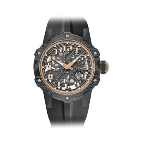 RICHARD MILLE AUTOMATIC EXTRA THIN ROSE GOLD LIMITED EDITION 140 PCS