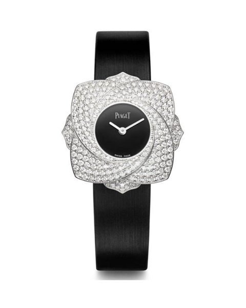 PIAGET LIMELIGHT BLOOMING ROSE 34MM WHITE GOLD WITH DIAMONDS REF G0A39182