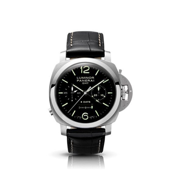 PANERAI LUMINOR CHRONO MONOPULSANTE 8 DAYS GMT 44MM MEN'S WATCH REF. PAM00275