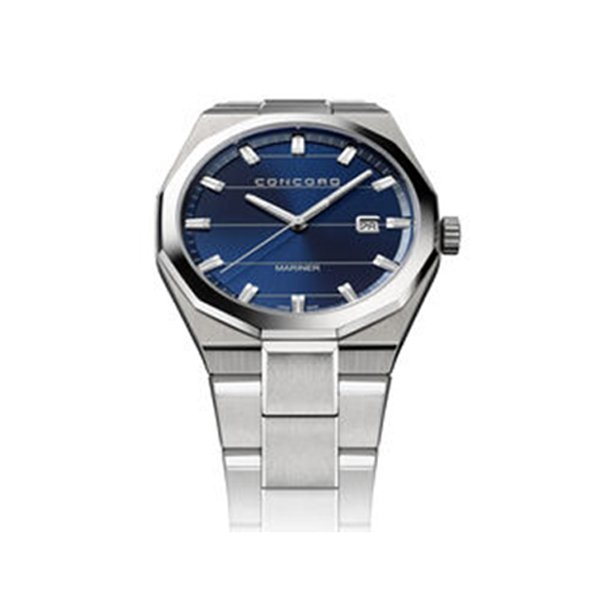 CONCORD PRE-OWNED MARINER BLUE DIAL REF. 0320410