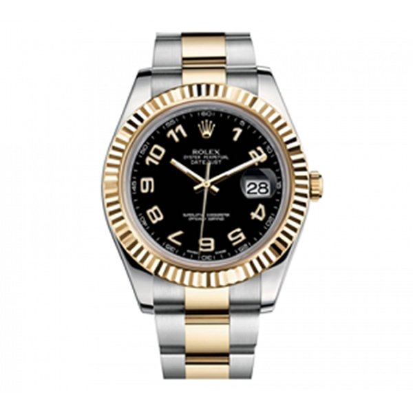 Rolex Datejust II STAINLESS STEEL AND 18K YELLOW GOLD 41MM MEN'S WATCH REF. 116333BKAO