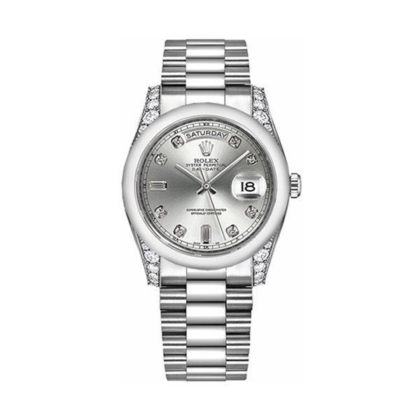 ROLEX OYSTER PERPETUAL DAY-DATE 36MM MEN'S WATCH REF. 118296