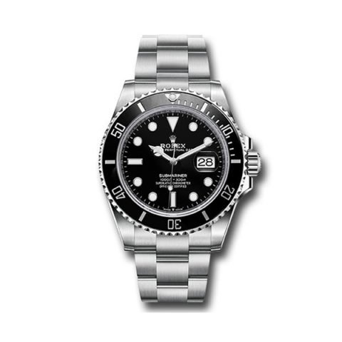 PROFESSIONAL ROLEX STEEL SUBMARINER DATE WATCH BLACK BEZEL BLACK DIAL 2020 RELEASE REF. 126610LN