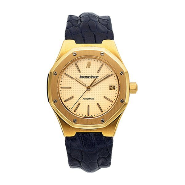 AUDEMARS PIGUET REF 14800BA 18K GOLD ROYAL OAK AUTOMATIC CIRCA 1994