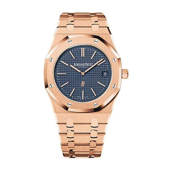 "AUDEMARS PIGUET ROYAL OAK ""JUMBO"" EXTRA-THIN WATCH"