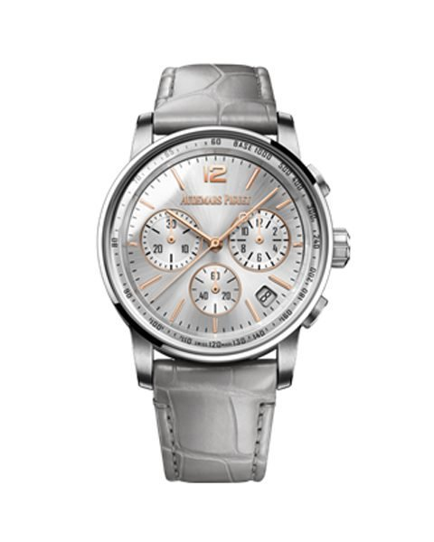 AUDEMARS PIGUET CODE 11.59 TWO-TONE AND NEW SMOKED LACQUERED DIAL WATCH
