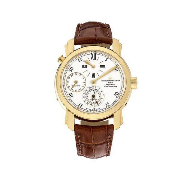 VACHERON CONSTANTIN MALTE DUAL TIME REGULATOR MEN'S WATCH REF. 42005/000J-8901