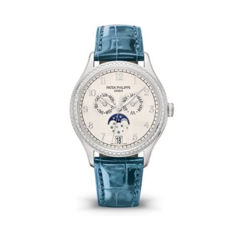 PATEK PHILIPPE COMPLICATIONS ANNUAL CALENDAR MOON PHASES WATCH