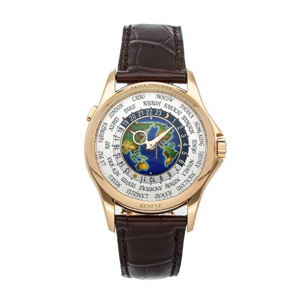 PATEK PHILIPPE COMPLICATIONS WORLD TIME 5131R-001 ROSE GOLD MEN'S WATCH