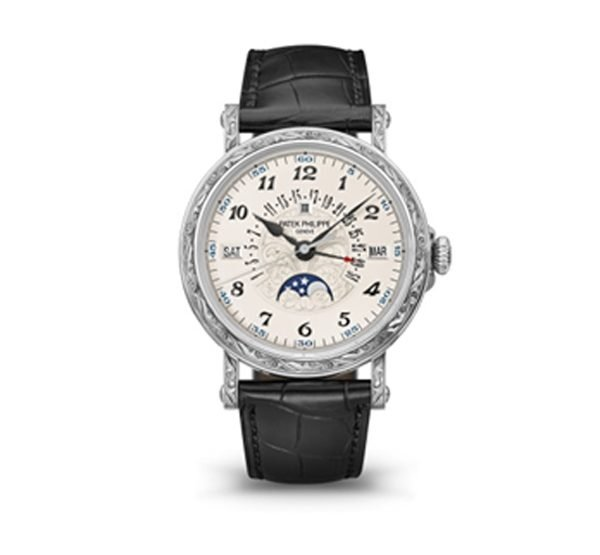 PATEK PHILIPPE GRAND COMPLICATIONS PERPERTUAL CALENDAR WATCH