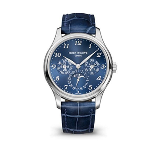 PATEK PHILIPPE GRAND COMPLICATIONS PERPETUAL CALENDAR MEN'S WATCH