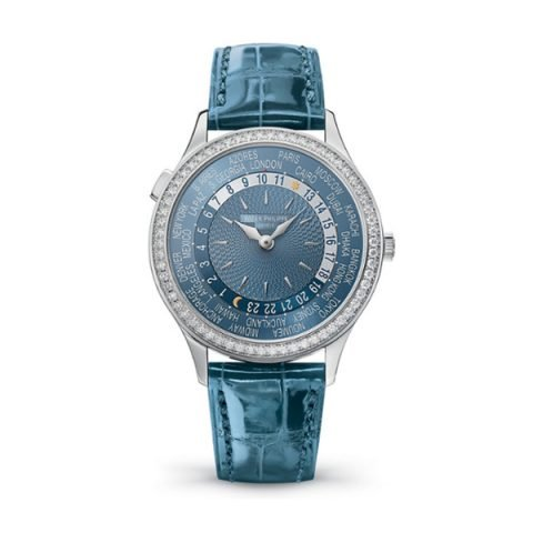 PATEK PHILIPPE COMPLICATIONS WORLD TIME LADIES WATCH