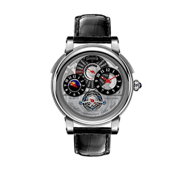 BOVET DIMIER RECITAL 7 ORBIS MUNDI 45MM MEN'S WATCH
