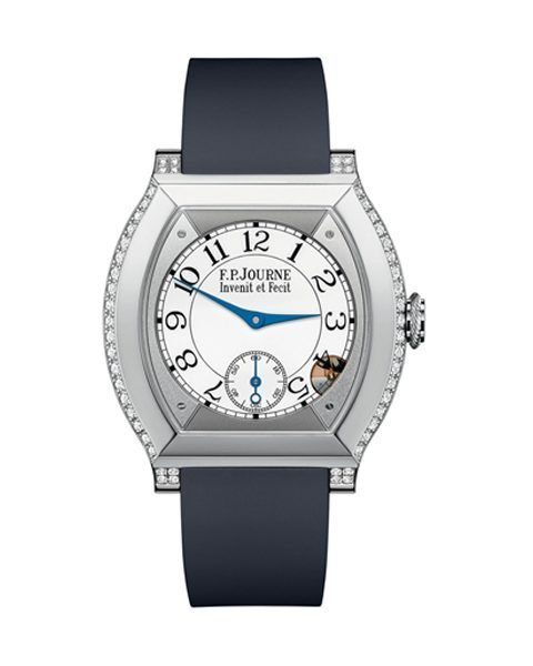 F.P. JOURNE ELEGANTE 40MM PLATINUM & DIAMONDS LADIES WATCH REF. EWATC06747