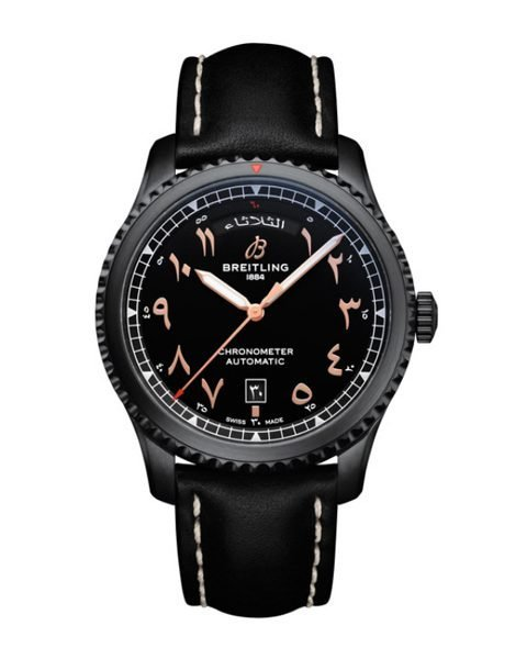 BREITLING AVIATO 8 DAY AND DATE ETIHAD AIRWAYS LIMITED EDITION REF. M453301A1B1X2