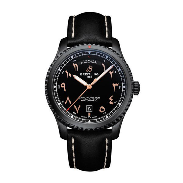 Breitling Pre-owned Aviato 8 Day And Date Etihad Airways Limited Edition