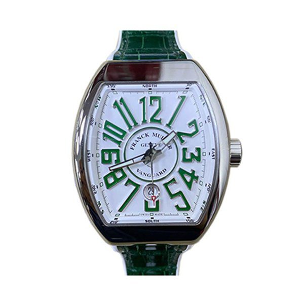 FRANCK MULLER VANGUARD GREEN MEN'S WATCH REF. V 45 SC DT AC VR