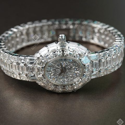 PIAGET LIMELIGHT GALA 18K WHITE GOLD DIAMOND UNIQUE PIECE 1/1 REF. G0A19600