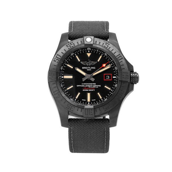 BREITLING AVENGER BLACKBIRD AUTOMATIC BLACK DIAL MEN'S WATCH REF. V1731110-BD74-109W-M20BASA.1