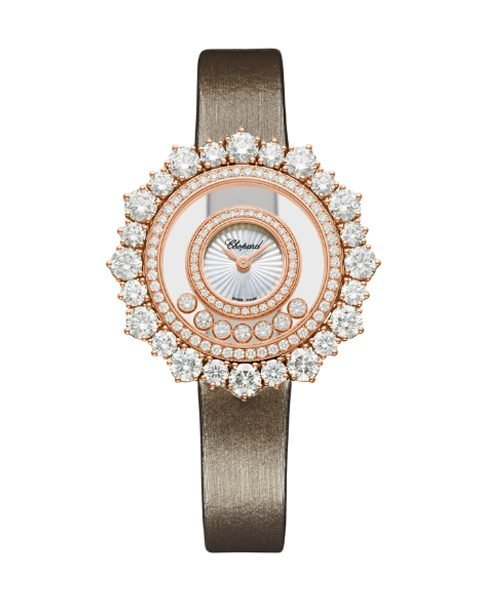 CHOPARD HAPPY DIAMONDS JOAILLERIE 36MM MOTHER-OF-PEARL DIAL ROSE GOLD LADIES WATCH REF. 209436-5001