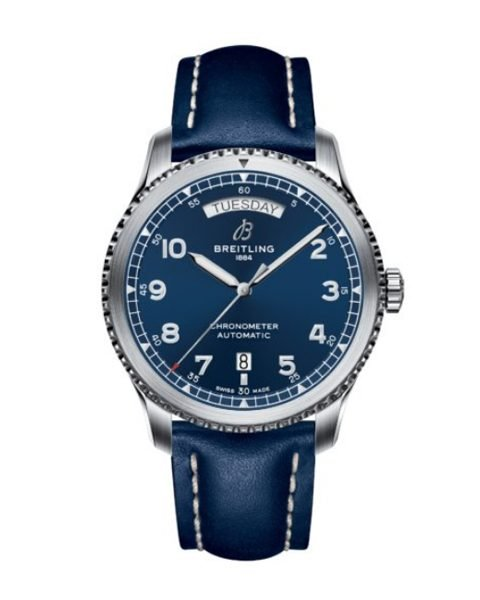 BREITLING AVIATOR 8 AUTOMATIC DAY DATE 41MM MEN'S WATCH REF. A45330101C1X3