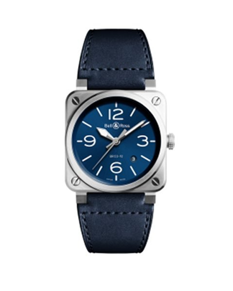 BELL & ROSS BR03-92 AUTOMATIC 42MM MEN'S WATCH REF. BR0392-BLU-ST/SCA