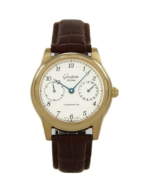 GLASHUTTE ORIGINAL CLASSIC POINTER DATE UNISEX WATCH REF. 49-02-04-02-04