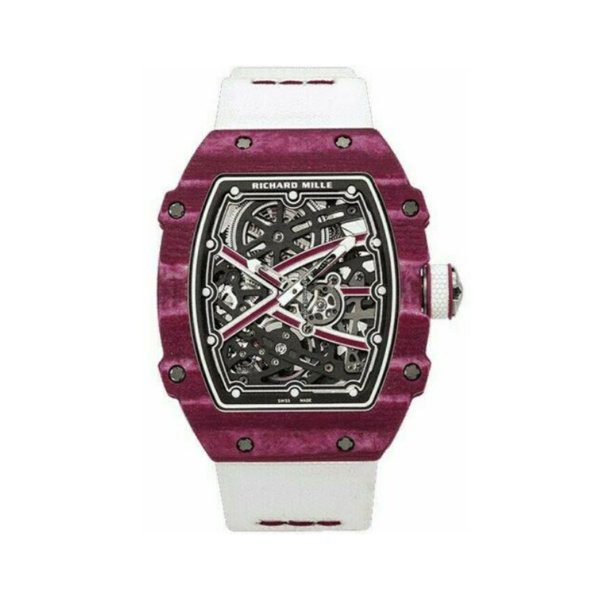 RICHARD MILLE AUTOMATIC HIGH JUMP PURPLE MEN'S WATCH REF. RM 67-02