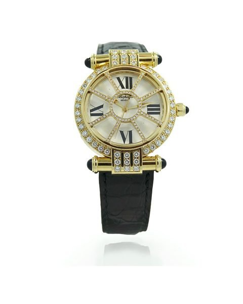 Chopard 18k Imperiale With Dimaonds Ladies Watch