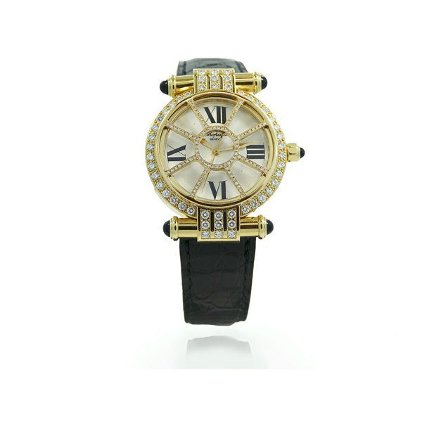 CHOPARD 18K IMPERIALE WITH DIMAONDS WOMEN'S WATCH REF. 37/3414-36