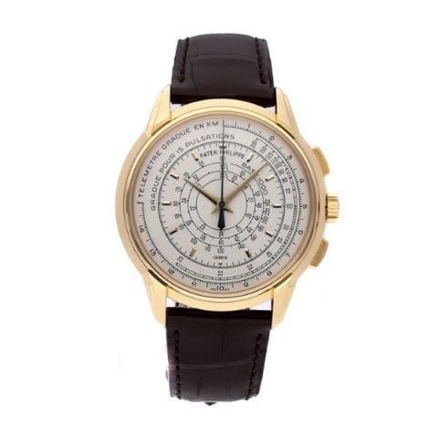 Patek Philippe Pre-Owned Chronograph Anniversary 175th 40mm Men's Watch