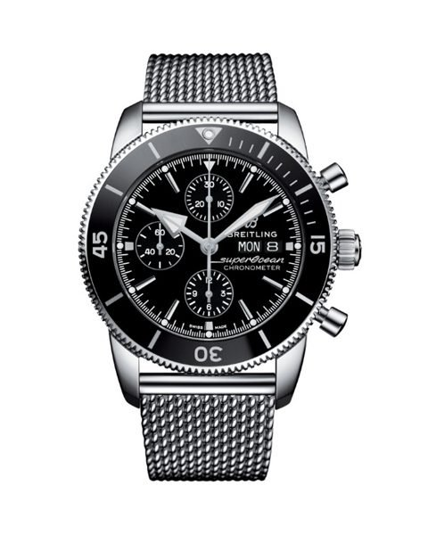 BREITLING PRE-OWNED SUPEROCEAN HERITAGE CHRONOGRAPH 44MM MEN'S WATCH REF. A13313121B1A1